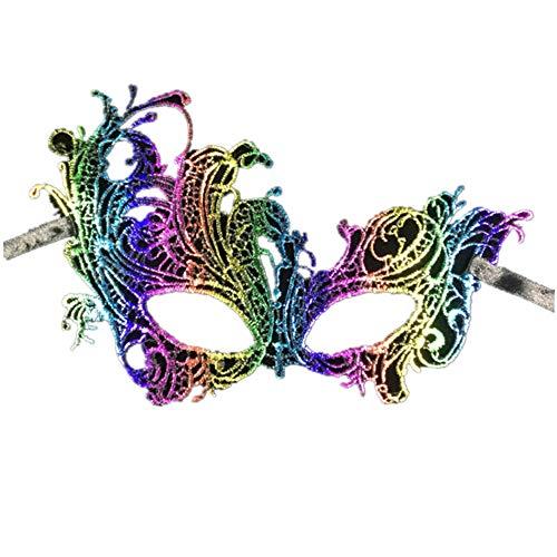 Halloween Mask,Sexy Phoenix Stereo Style Lace Mask,Nightclub Eye Mask,Makeup Show Ball Catwalk Mask