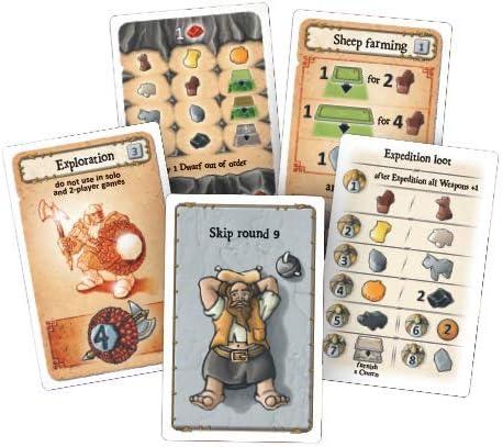 Caverna: The Cave Farmers | 1-7 Jugadores 30-210 Minutos | Juego de mesa de estrategia de posicionamiento del trabajador: Amazon.es: Juguetes y juegos