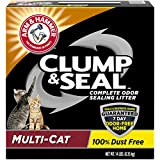 Arm & Hammer Clump & Seal Litter - Multi-Cat 14lb