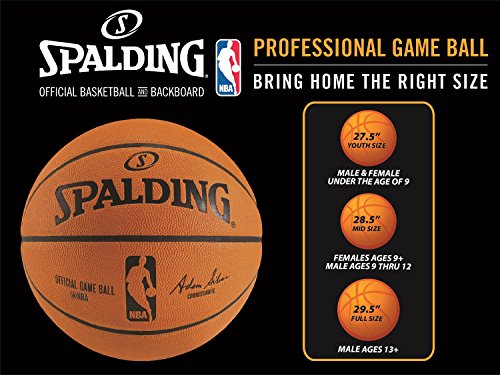 Spalding NBA Street Basketball - Intermediate Size 6 (28.5