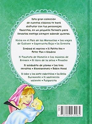 Pack: El Lobo Y Los Siete Cabritillos, La Bella Durmiente, El Sastrecillo Valiente Y Pulgarcita Pequeños Cuentos: Amazon.es: Equipo Editorial: Libros