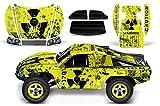 Designer Decal for Traxxas Slash 1 10 (#58034) and Slayer 1 10 (#59074) AMRRACING RC Kit - Meltdown - Black Yellow