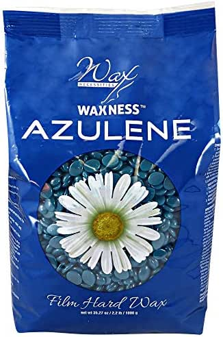 Waxness Wax Necessities Film Hard Wax Beads Azulene 2.2 Pound