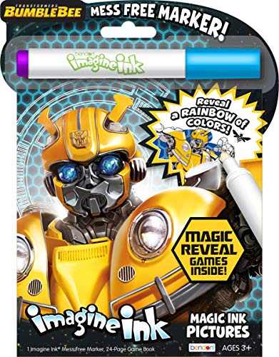 Bendon 43529 Transformers Bumblebee Imagine Ink Magic Ink Pictures