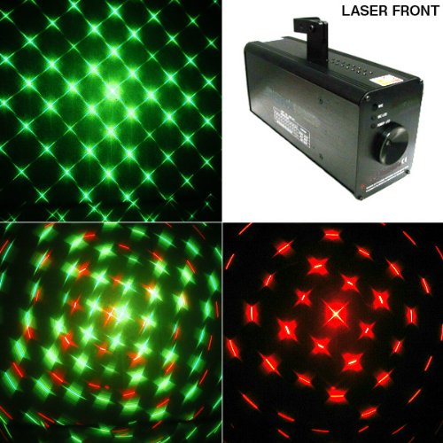 グリーンレーザー・レッドレーザー ファイアーライトレーザー2 クラブ・ディスコ・パーティーに華を添える照明