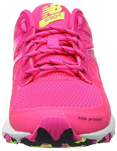 New Balance Wt690v2, Chaussures de Trail Femme Rose (Pink)