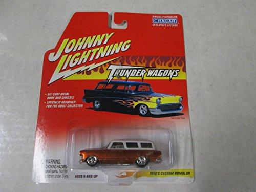 Johnny Lightning Thunder Wagons 1950's Custom Rumblur Copper w/white roof