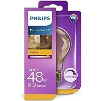 Philips 929001332901 Led Kısılabilir Filament Ampul Altın A60 E27, 48 Watts