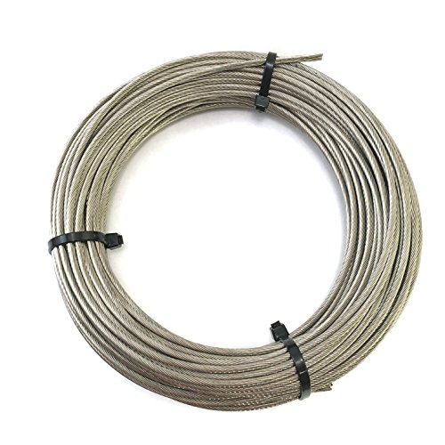 - Stainless Steel Aircraft Cable 1/8