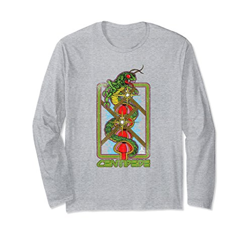 Unisex Atari Centipede Vertical Art Long Sleeve T-shirt