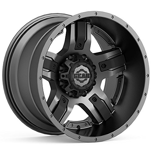 Gear Alloy 740GB Manifold 18x9 6x135/6x139.7 +18mm Gunmetal/Black Wheel - 18 Gunmetal Rims