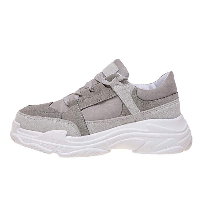 Zapatillas Deportivas de Mujer Hombre Zapatos Parejas Senderismo Correr Shoes Zapatillas Al Aire Libre del Dedo del Pie Calzado De Trabajo YiYLunneo: ...