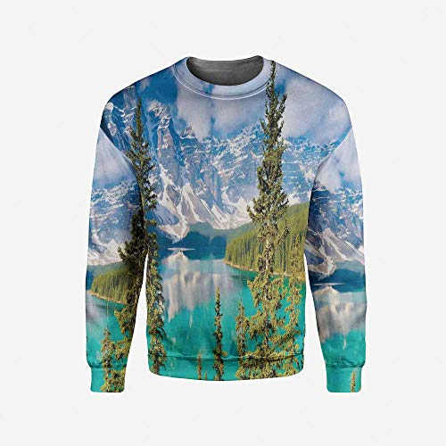 iPrint Men's Crewneck Primitive Pullover Sweater by iPrint