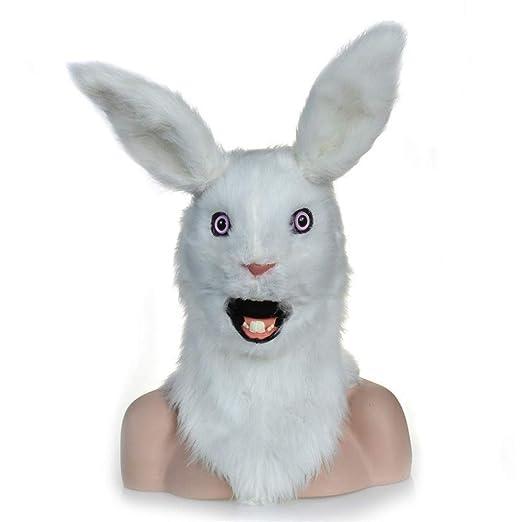 ZXJUAN Simulación Conejo máscara Animal demostración de la ...