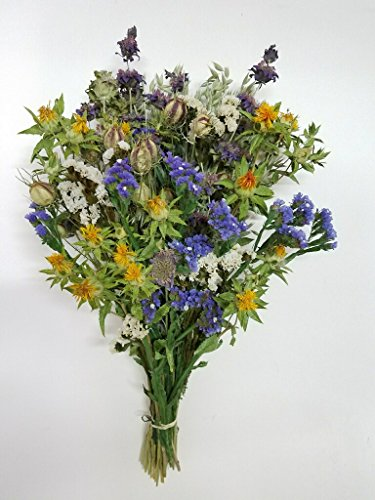 Falling For Autumn Bouquet Of Dried Flowers Bunch of Fall Dried Flowers For Autumn Floral Decorating Vase Arrangements