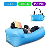 DasMeer Outdoors Inflatable Lounger, Air Beach Sofa Convenient Bag Compression Lazy Couch for Summer Hangout Sleeping Bed Hiking,Camping and Indoors Versatile activities
