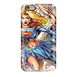 New Snap-on ZippyDoritEduard Skin Case Cover Compatible With Iphone 6- Supergirl