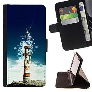 Jordan Colourful Shop - Lighthouse Island For Apple Iphone 6 - Leather Case Absorci???¡¯???€????€???????????&