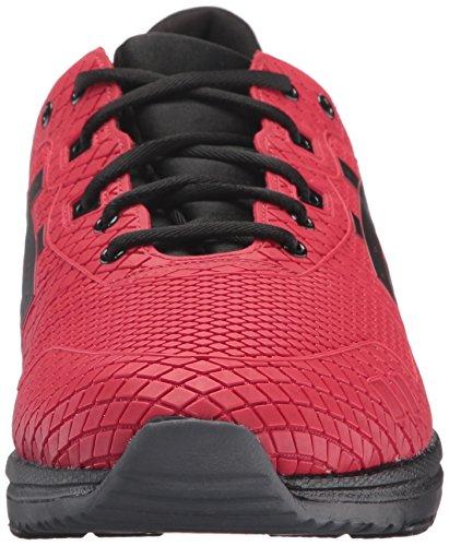 ASICS Mens Gel-Lyte EVO Fashion Sneaker, Red/Black, 12 M US
