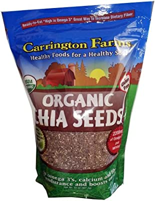 Carrington Farms Semillas de chia orgánica 32 oz: Amazon.es ...
