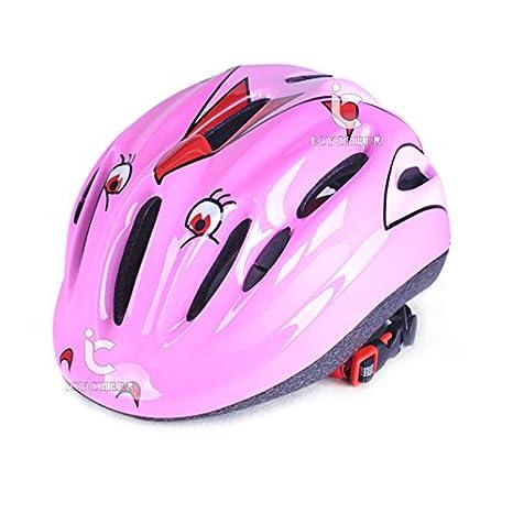 ICYCHEER - Casco de seguridad infantil para bicicleta, patinaje, scooter, cabeza deportiva: Amazon.es: Belleza