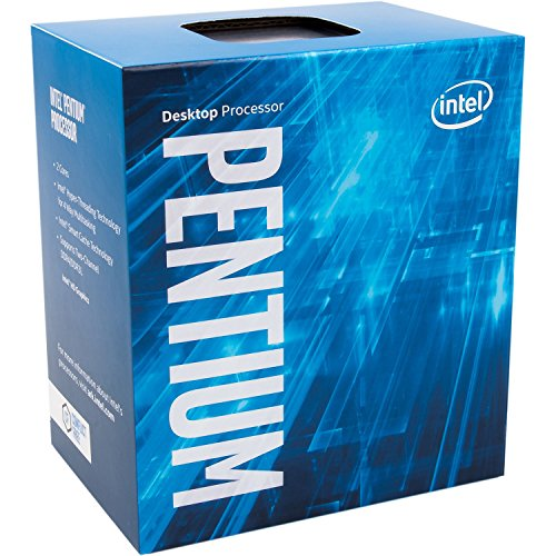 (Intel Pentium G4560 - 3.5 GHz - 2 cores - 4 threads - 3 MB cache - LGA1151 Socket - Box)