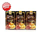 3 Boxes Gano Cafe 3-in-1 By Gano Excel USA Inc. - 60 Sachets