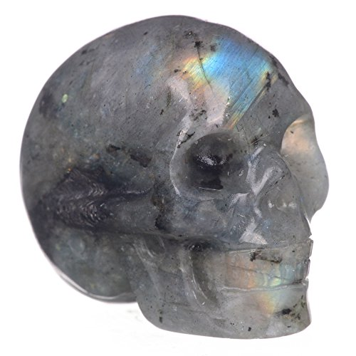 """Mineralbiz 1.3""""-1.5"""" Length Natural Labradorite Hand, used for sale  Delivered anywhere in USA"""