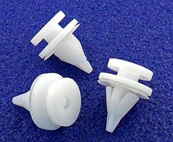 10x Clips Plastico Pieza Panel Puerta Interior Scenic Twingo - Remaches Plásticos - Clips Para Panel Puerta Pack Molduras - Coche Grapas - Franqueo libre!: