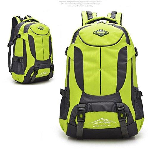 HCLHWYDHCLHWYD-bolso del alpinismo del hombro del bolso de las mujeres y los hombres al aire libre del alpinismo mochila de gran capacidad mochila de viaje bolsa , 1 5