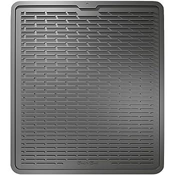 Amazon Com Large Dish Silicone Drying Mat Draining Mat