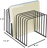 Klickpick Office Wire Desk File Organizer with 11