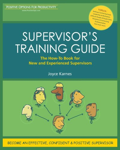 SUPERVISOR'S TRAINING GUIDE
