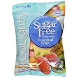 Go Lightly Sugar Free Hard Candy Tropical Fruit Assortment, 2.75 oz bag, Kosher