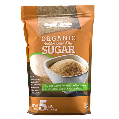 Grain Brain Golden Cane Raw Organic Sugar (80 ounces)