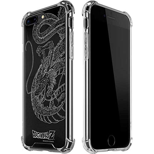 Skinit Negative Shenron iPhone 7/8 Plus Clear Case - Officially Licensed Dragon Ball Z Phone Case Clear - Transparent iPhone 7/8 Plus Cover
