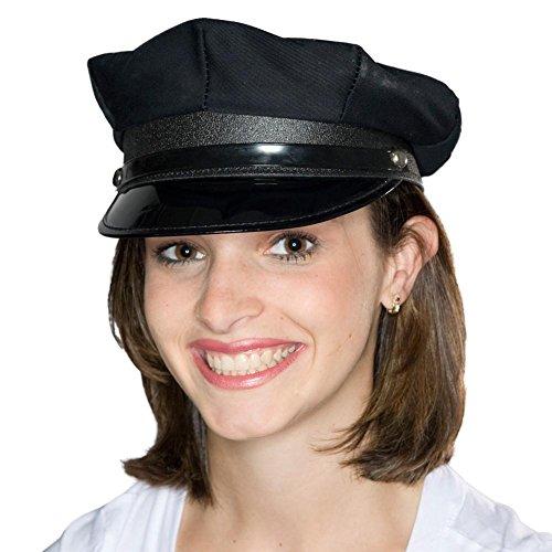Cheap Chauffeur Hats (Black Police/Chauffeur Hat)
