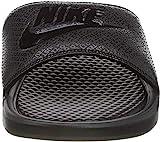 Nike Men's Benassi Just Do It Athletic Sandal, college navy/university red, 9 D US