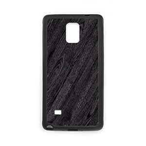Wood Series, Samsung Galaxy Note 4 Case, Wooden Case for Samsung Galaxy Note 4 [Black]
