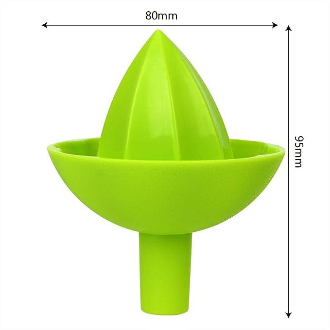 PaWa Spremiagrumi per frutta e succo in plastica verde verde 1 pezzo 10 x 8 cm