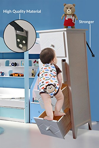 Anti Tip Furniture Earthquake dresser Protect baby Life