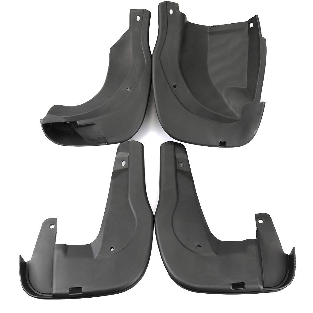 Dpolrs 4pcs For Honda CR-V 2012-2017 Car Mudguard PP Splash Guards Replacement Mud Flap Protection