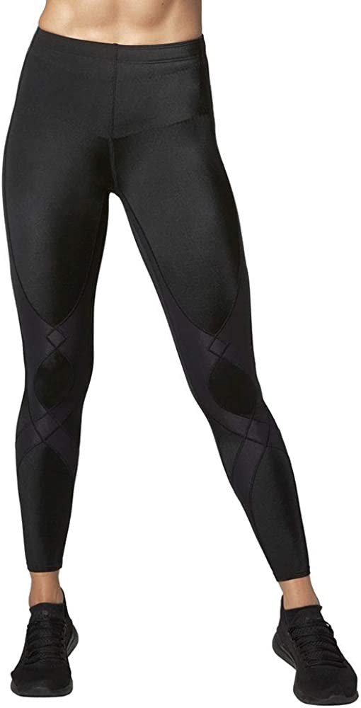 CW-X Women's Mid Rise Full Length Stabilyx Compression Legging Tights : Clothing