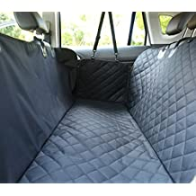 ELETIST Car Seat Cover II Dog Car Seat Covers For Back Seat/Trunk SUV,Waterproof Nonslip Easy Clean, Pet Seat Cover, Hammock Convertible For Most Of Models,Black 55*51(in)