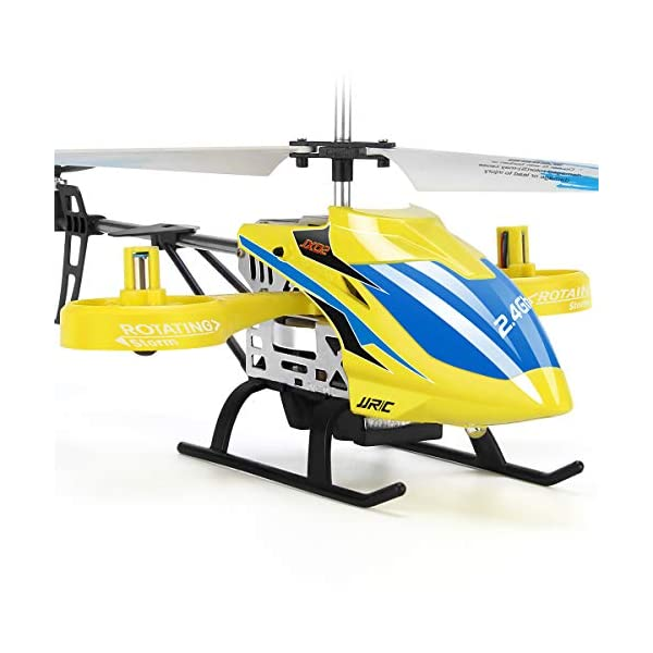 JJRC-RC-Helicopter-Aircraft-with-4-Channel-Altitude-Hold-Flying-Toy-in-Sturdy-Alloy-Material-Gyro-Stabilizer-Multi-Protection-Drone-for-Kids-and-Beginners