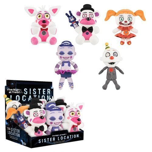 Five Nights at Freddy's Sister Location 8-Inch Plush SET