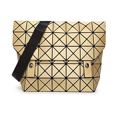 Bag dames bandoulière travail à Crossbody Messenger main loisirs réglable Sac Satchel pour Or Bag Sac à YDYG les bandoulière géométrique Shopping HPq6qXzn