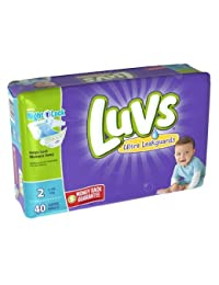 Luvs Ultra Leakguards Diapers Size 2, 40 Count BOBEBE Online Baby Store From New York to Miami and Los Angeles