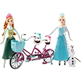 Disney Frozen Anna and Elsa The Olaf Musical Bicycle Play Set