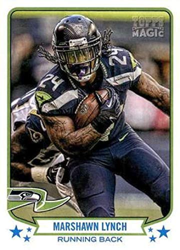 2013 Topps Magic #190 Marshawn Lynch Seahawks NFL Football Card ()